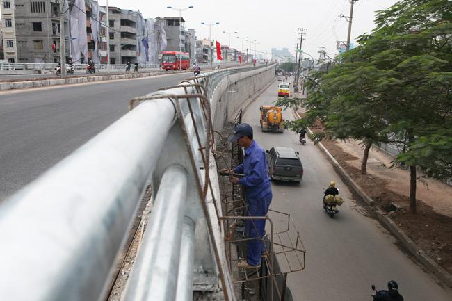 Cận cảnh đường 6.000 tỷ nối Cầu Giấy-Nhật Tân ở Hà Nội - 12