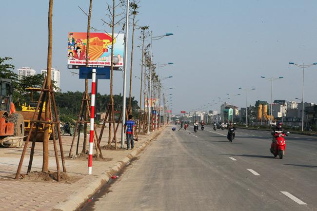 Cận cảnh đường 6.000 tỷ nối Cầu Giấy-Nhật Tân ở Hà Nội - 13