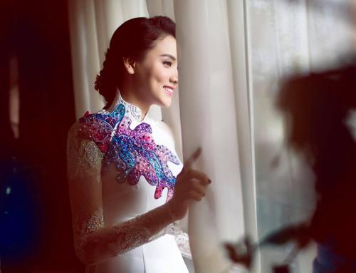 Trang Nhung rạng ngời hạnh phúc trong lễ vu quy - 1