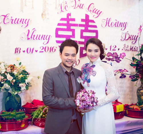Trang Nhung rạng ngời hạnh phúc trong lễ vu quy - 14