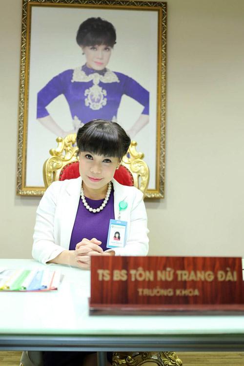 Việt Hương 'vất vả' với vai bác sĩ quái chiêu - 1