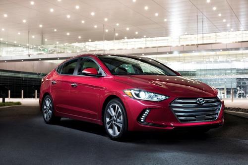 Công bố giá Hyundai Elantra 2017 - 1
