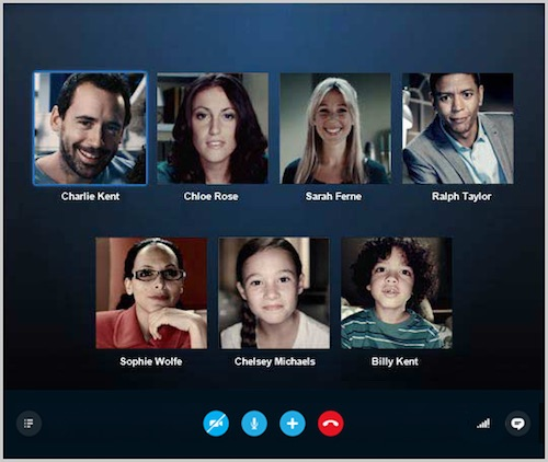Skype có thêm tính năng gọi video call theo nhóm miễn phí - 1