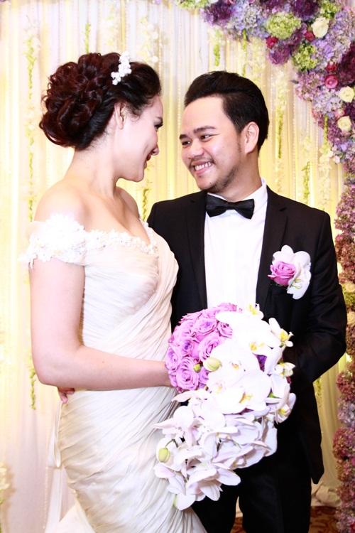 Trang Nhung lộng lẫy trong 'tiệc cưới 5 sao' - 2