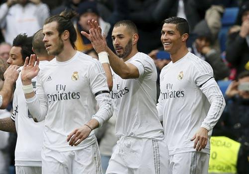 Real & B-B-C thăng hoa: Tinh tường như Zidane - 1