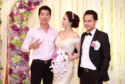 Thúy Hạnh 'đụng' phong cách với cô dâu Trang Nhung - 5