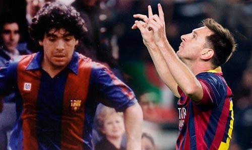 Messi đã vượt Maradona về sức chịu đựng - 1
