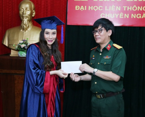 Hồ Quỳnh Hương lần đầu làm giảng viên - 1
