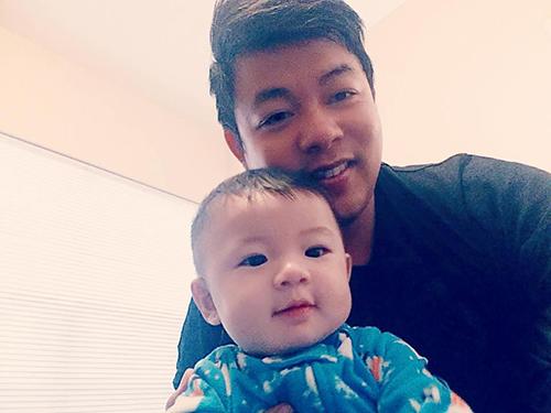 Facebook sao 19/1: Quang Lê khoe ảnh con trai cưng - 1
