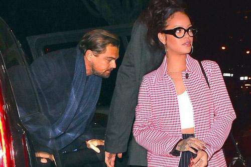 Chia tay bạn gái siêu mẫu, Leonardo lại cặp kè Rihanna - 1