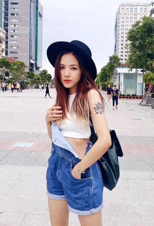 Em gái ca sĩ Phương Linh không 'đu bám' phong cách chị - 5