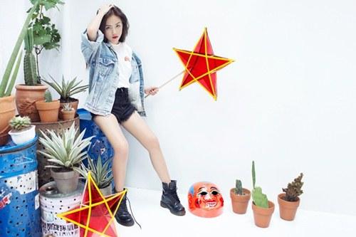Em gái ca sĩ Phương Linh không 'đu bám' phong cách chị - 16