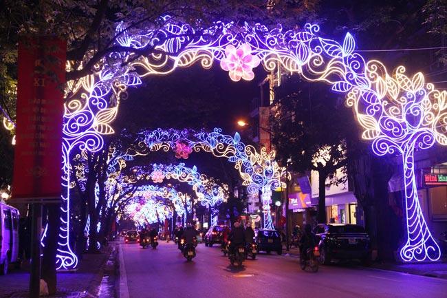 Ảnh: Thủ đô tràn ngập sắc màu đón năm mới - 6