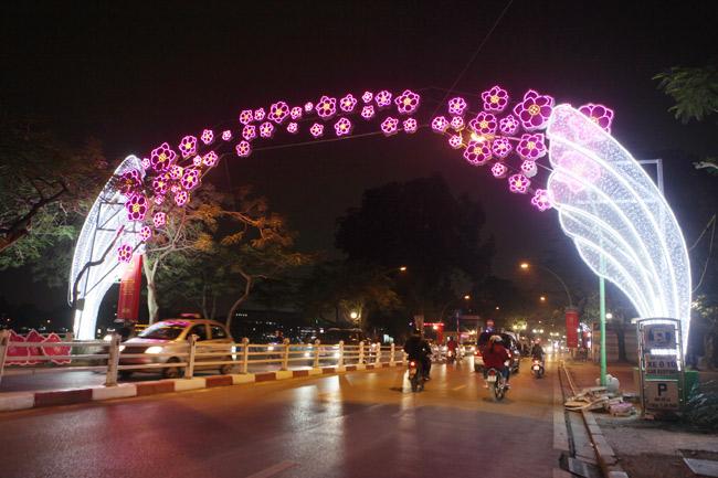 Ảnh: Thủ đô tràn ngập sắc màu đón năm mới - 10