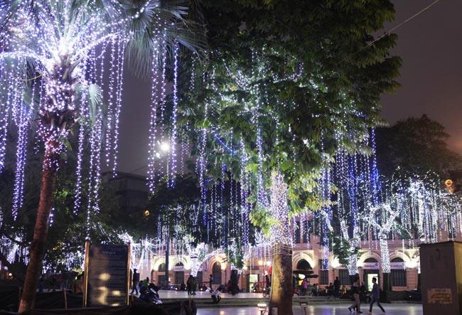 Ảnh: Thủ đô tràn ngập sắc màu đón năm mới - 15