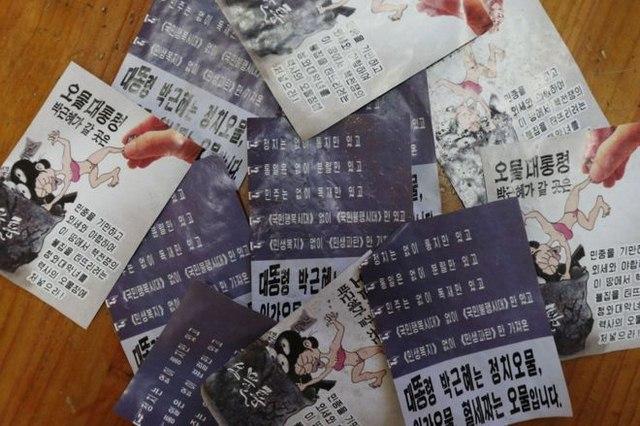 1 triệu truyền đơn từ bóng bay của Triều Tiên viết gì? - 1