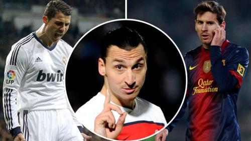 """Ibra """"chung mâm"""" với Pele, vượt xa Messi & Ronaldo - 1"""