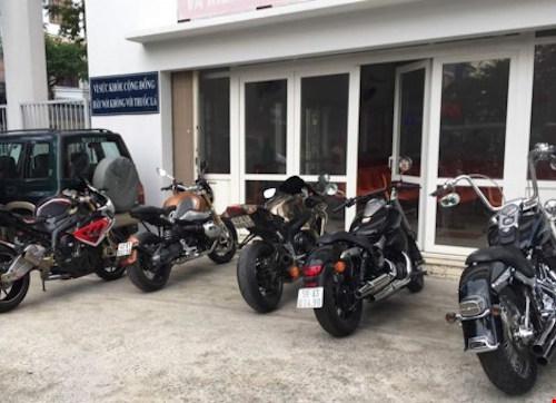 """CSGT Đà Nẵng công bố mức phạt dàn mô tô """"khủng"""" - 1"""