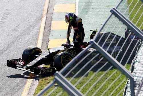 "F1: Renault sẽ đuổi ""kẻ phá hoại"" Maldonado - 2"