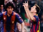 Bóng đá - Messi đã vượt Maradona về sức chịu đựng