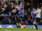 Video bàn thắng - Terry đánh gót điệu nghệ top bàn đẹp V22 NHA