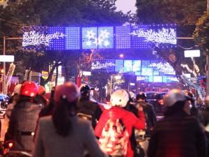 Tin tức trong ngày - Ảnh: Thủ đô tràn ngập sắc màu đón năm mới