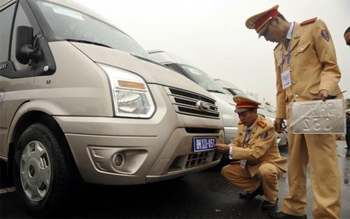 Xe ô tô phục vụ Đại hội Đảng XII mang biển số riêng - 2