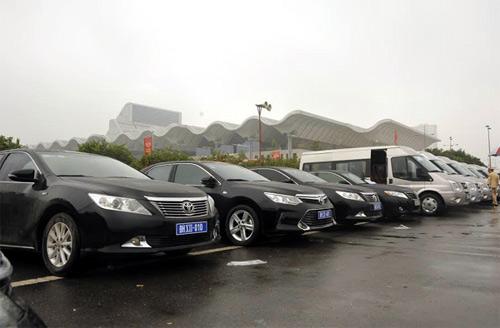 Xe ô tô phục vụ Đại hội Đảng XII mang biển số riêng - 3