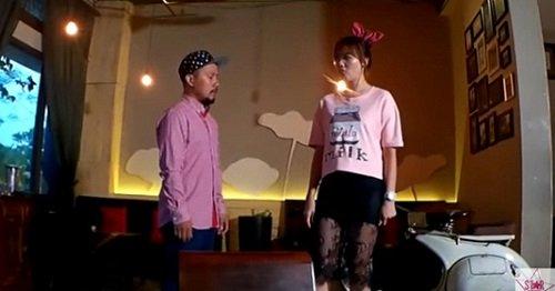 Fan xôn xao clip Hari Won và Tiến Đạt cãi nhau - 1