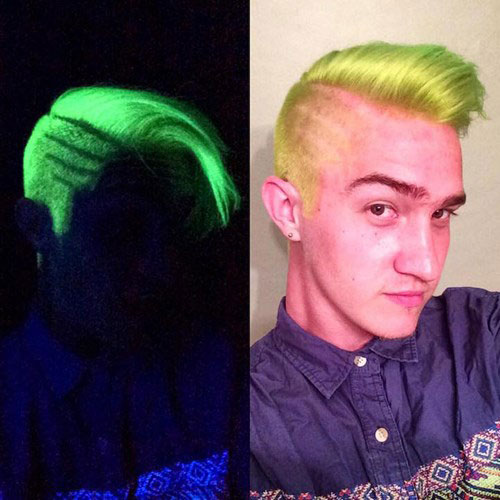 Giới trẻ toàn cầu đua nhau nhuộm tóc phát sáng - 10