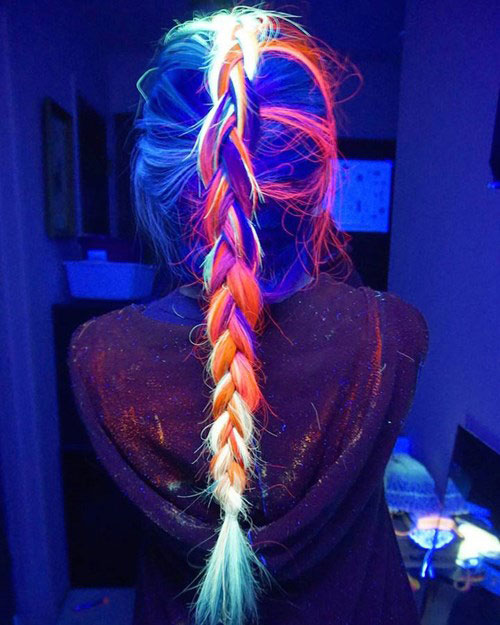 Giới trẻ toàn cầu đua nhau nhuộm tóc phát sáng - 3