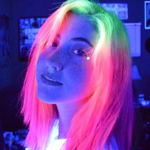 Giới trẻ toàn cầu đua nhau nhuộm tóc phát sáng - 6