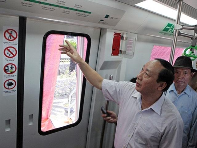 Thêm chỗ ngồi ưu tiên trên tàu Cát Linh – Hà Đông - 1