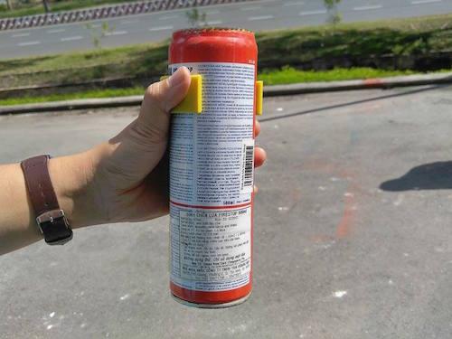 Thêm một vụ nổ bình cứu hỏa trong ô tô tại TPHCM - 2