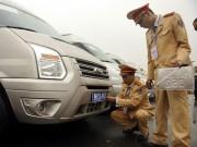Tin tức Việt Nam - Xe ô tô phục vụ Đại hội Đảng XII mang biển số riêng