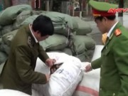 Video An ninh - Hà Nội: Bắt hơn 10 tấn nguyên liệu thuốc bắc lậu