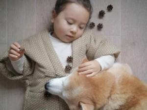 8X + 9X - Bộ ảnh cho thấy chó là người bạn không thể thiếu của bé