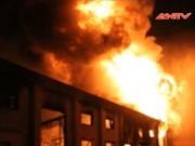 Video An ninh - Cháy nổ kinh hoàng ở kho chứa sơn Bình Dương