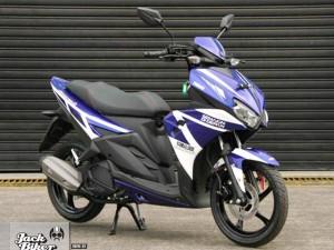 Cận cảnh Yamaha Aerox 125LC mới giá 29,3 triệu đồng