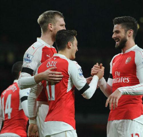 """""""Hái tiền"""" từ sân nhà: Arsenal qua mặt Real, Barca - 1"""