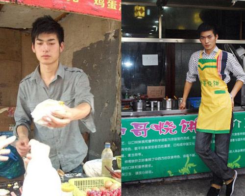 Hai chàng hot boy 'khoe thân' bán thịt khô gây 'sốt' - 4