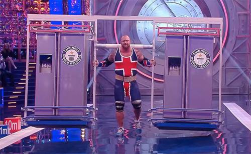 """""""Thần Thor"""" chạy nâng 450kg phá kỷ lục thế giới - 1"""