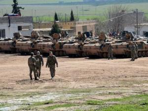 Thế giới - Thổ Nhĩ Kỳ đã dồn quân dọc biên giới Syria