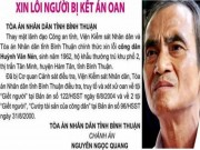 An ninh Xã hội - Cơ quan điều tra thụ lý đơn tố cáo của ông Huỳnh Văn Nén