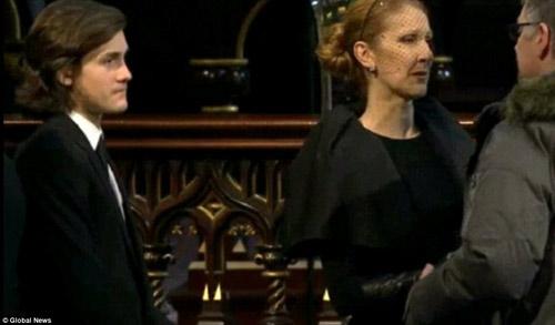 Celine Dion đẫm nước mắt trong đám tang chồng - 2