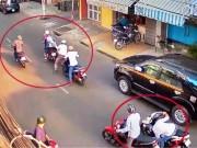 Tin tức trong ngày - Cả chục người nhìn cướp kéo lê nạn nhân không chút hỗ trợ