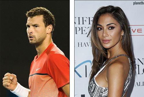 """Dimitrov thua Federer vì mải """"lái máy bay"""" Nicole - 1"""