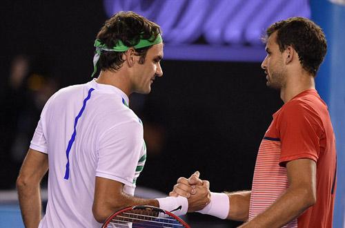"""Dimitrov thua Federer vì mải """"lái máy bay"""" Nicole - 2"""
