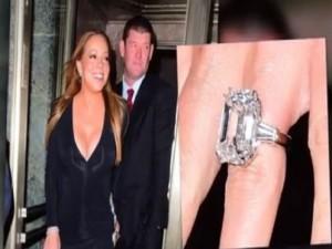 Đời sống Showbiz - Mariah Carey khoe nhẫn đính hôn 165 tỷ đồng