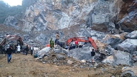 Thủ tướng yêu cầu điều tra nguyên nhân vụ sập mỏ đá - 1